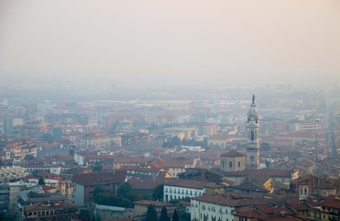 La cappa di smog