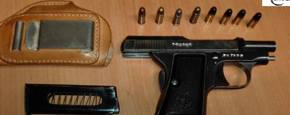 Presunta minaccia  con la pistola Arrestato imprenditore a Urgnano