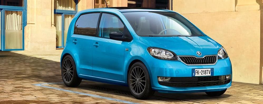 Škoda Citigo Design Edition  piccola ma full optional