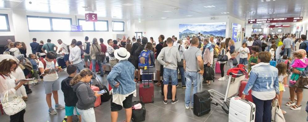 Orio non sente l'effetto Ryanair Sesto mese di fila sopra quota 1 milione