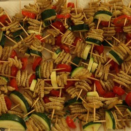 Pasta ai grilli, millepiedi cinesi e bachi L'Europa mette gli insetti a tavola