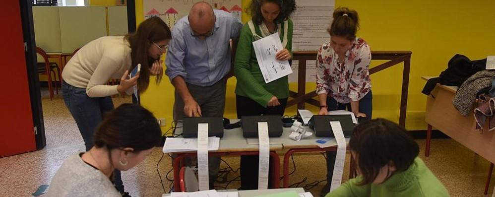 Referendum, chiusi i seggi – Video La mappa dell'affluenza in Bergamasca
