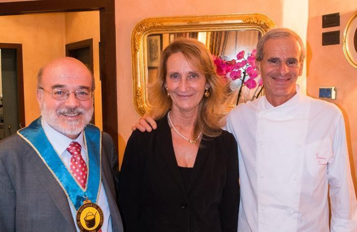 Ernesto Tucci, Marina e Fiorenzo Innocenti.