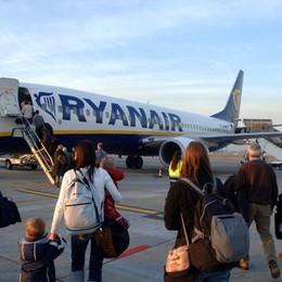 Ryanair e bagagli a mano Giro di vite, ma solo da gennaio
