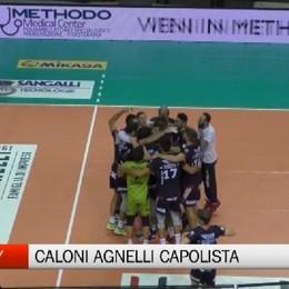 Volley, la Caloni Agnelli Bergamo capolista imbattuta
