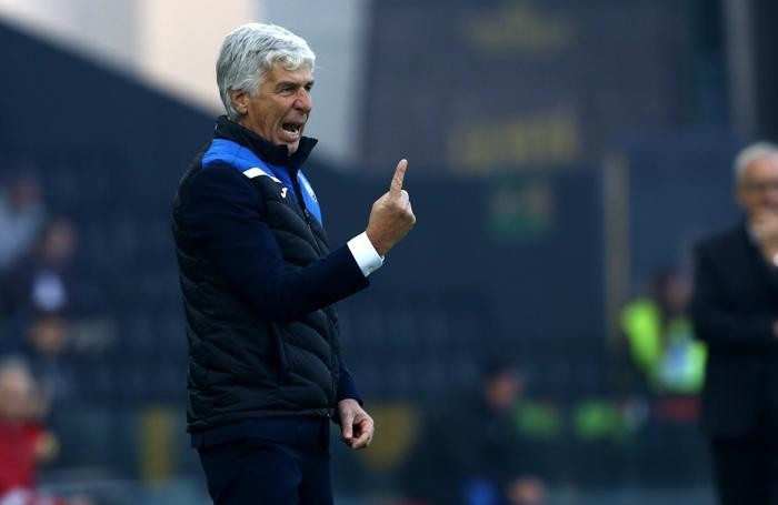 Serie A TIM 2017-18 giornata 11 udinese - atalanta gasperini gian piero