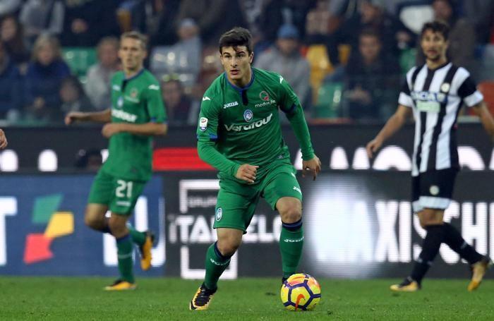 Serie A TIM 2017-18 giornata 11 udinese - atalanta orsolini riccardo