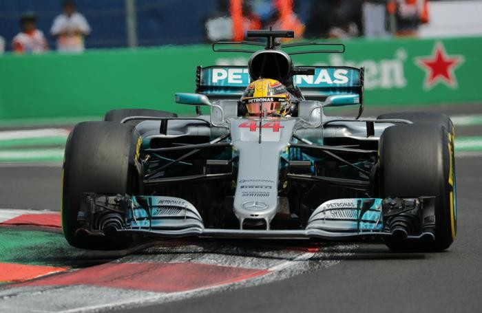 ewis Hamilton of Mercedes during the Mexico Formula One Grand PrixCity, Mexico, 2