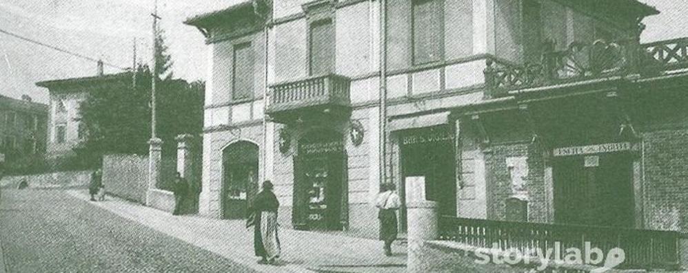 La funicolare di San Vigilio nel 1925 Una salita fino al «tetto» della città