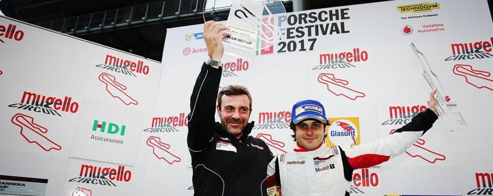 Carrera Cup Italia al Mugello Pellegrinelli si aggiudica il podio