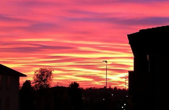 bergamo tramonto