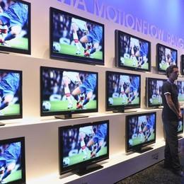 Addio al vecchio digitale terrestre Entro 5 anni, il 90% dei tv da cambiare