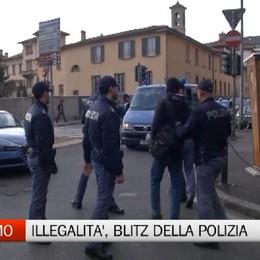 Blitz della Polizia tra via Paglia e via Bonomelli, 100 pesrone identificate . Tre denunce.