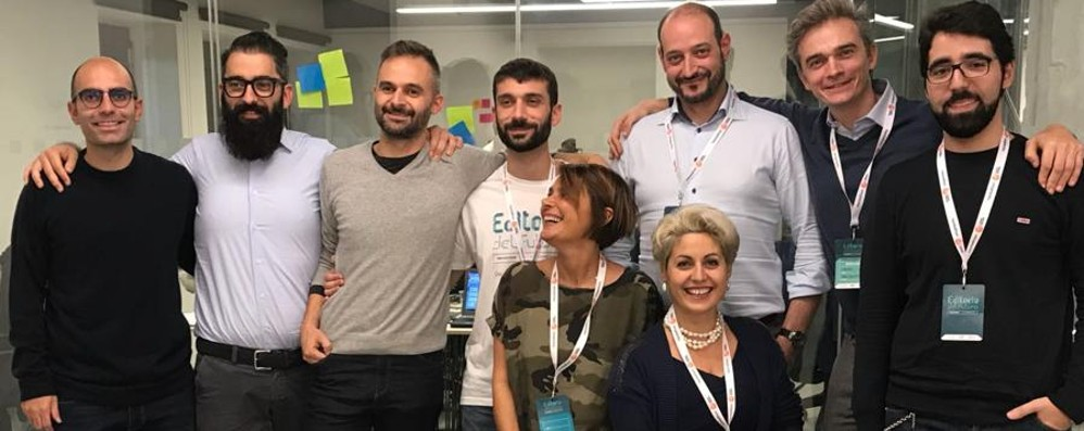 Editoria innovativa, la gara a Torino L'Eco nella squadra al secondo posto