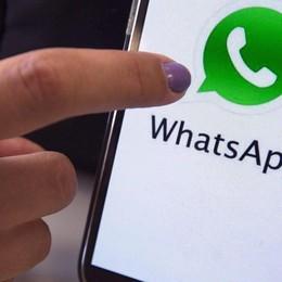 Il diritto di ripensarci... in sette minuti WhatsApp cancella i messaggi