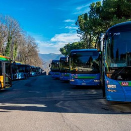 Trasporto pubblico in Bergamasca Boccata d'ossigeno da 50 mila km