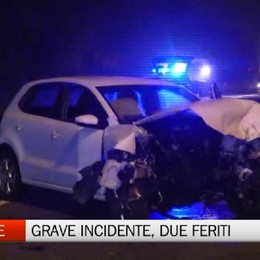 Cenate Sotto - Grave incidente, due i feriti