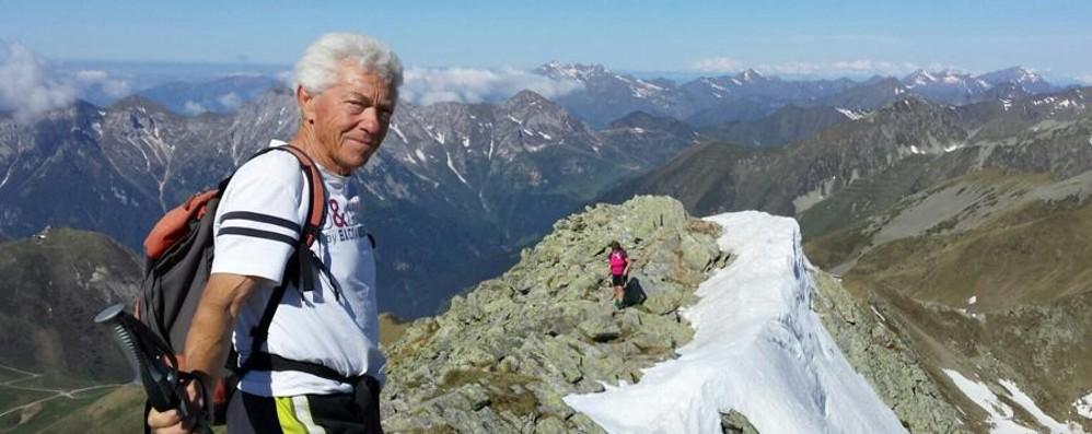 «La montagna era la tua vita Grazie Costante, ce l'hai fatta amare»