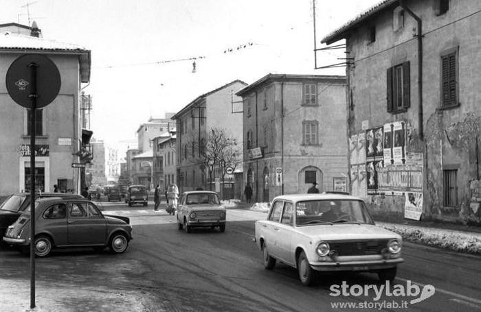 Via Broseta nel 1968