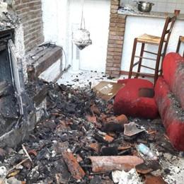 Ancora i pompieri in Borgo Palazzo - Foto Sei appartamenti non fruibili, 7 fuori casa