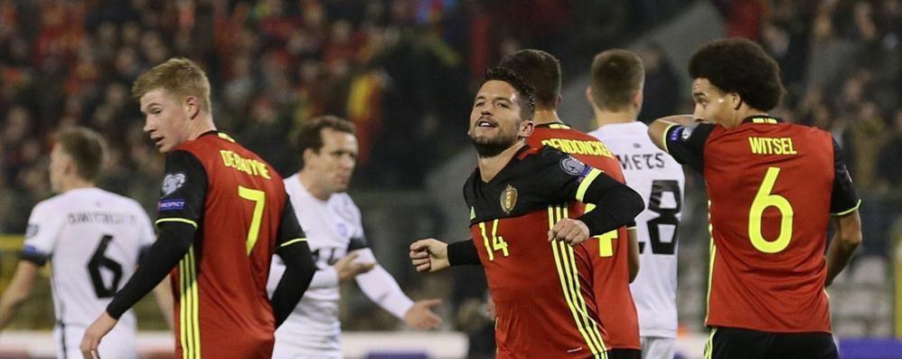 Il Belgio spinge l'Italia ai play off Gli Azzurri si giocano i Mondiali russi