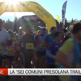 Bossetti vince la Sei Comuni Presolana Trail