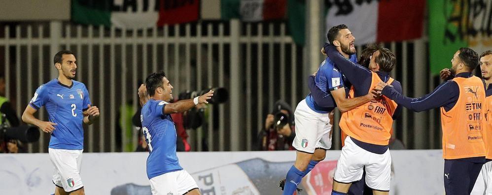 Italia a fatica con l'Albania, 1-0 Ora i playoff da testa di serie