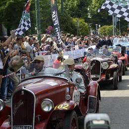 La «Mille Miglia» torna a Bergamo Auto da leggenda in centro il 19 maggio