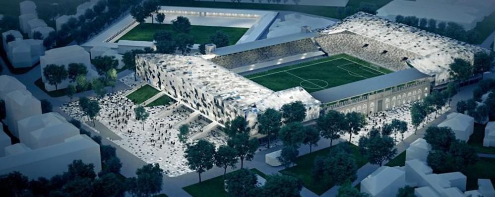 Uno stadio europeo pensando al quartiere