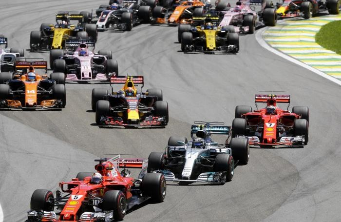 Ferrari driver Sebastian Vettel,