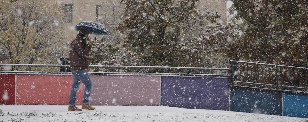 Bologna e il centro Italia sotto la neve A Venezia acqua alta, bora a Trieste- Foto