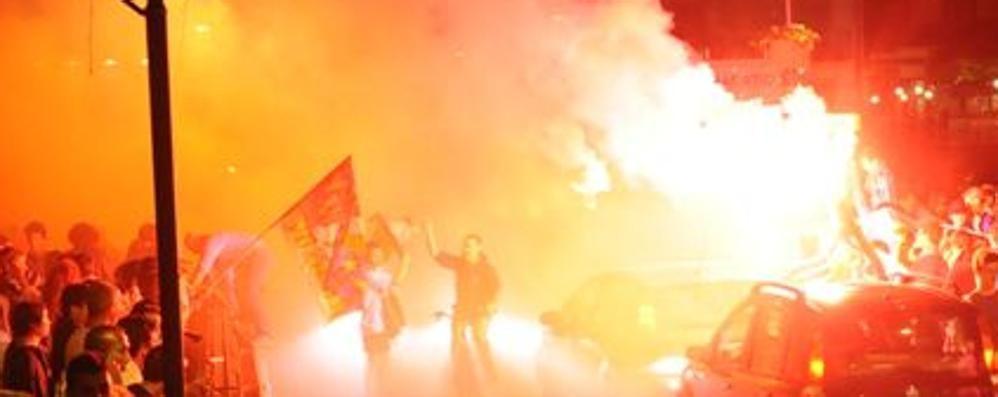 Aggressione agli interisti in festa Condannati 5 ultrà dell'Atalanta