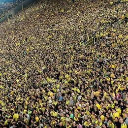 Atalanta, stadio modello Borussia Ecco la folle curva di Dortmund