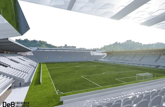 foto rendering stadio