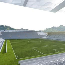 Malagò: «Atalanta modello» - Foto Lo stadio   da dentro, le curve «quadrate»