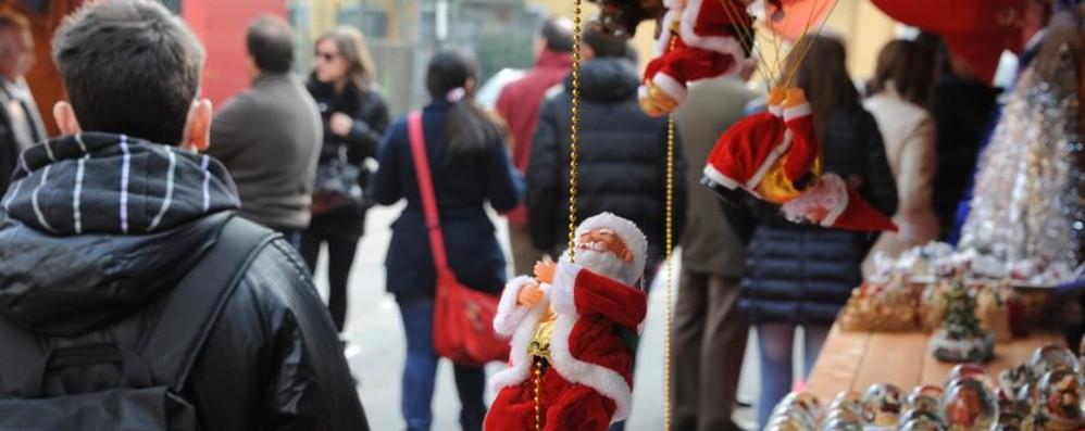 Atmosfera di festa a Bergamo Sabato torna il Villaggio di Natale