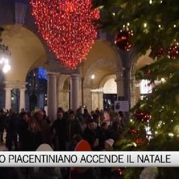 Si accende il Natale «Piacentiniano»