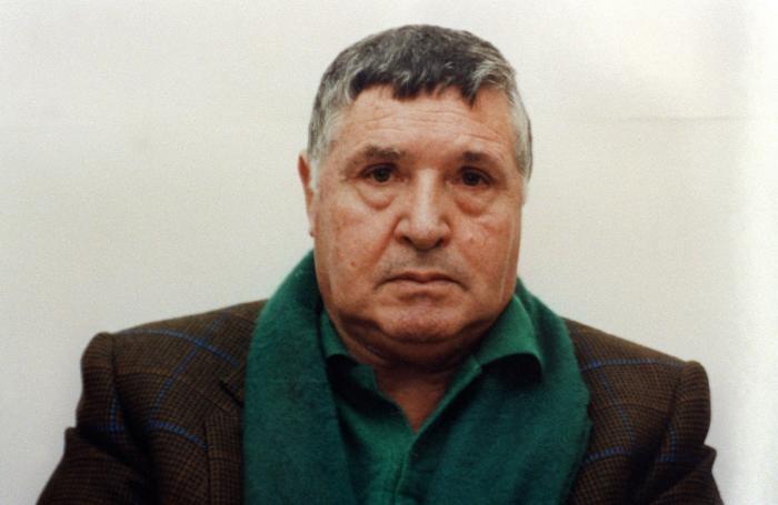 Toto' Riina in una immagine di archivio. ANSA