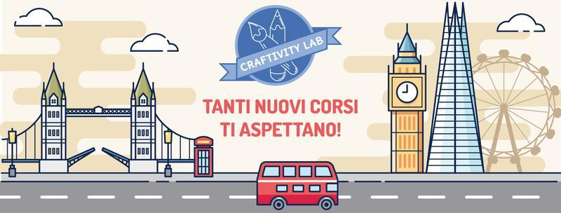 NUOVI CORSI DI INGLESE E LABORATORI CREATIVI @CraftivityLab