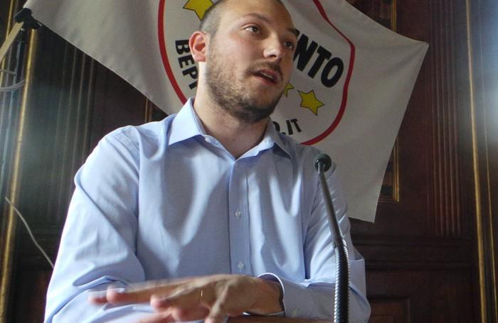 Dario Violi, consigliere regionale in lizza per la corsa al Pirellone