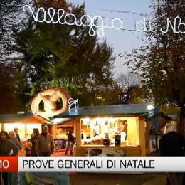 Bergamo, prove generali di Natale  E il traffico in centro va già in tilt