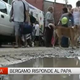 Bergamo risponde al  Papa   per la Giornata dei Poveri
