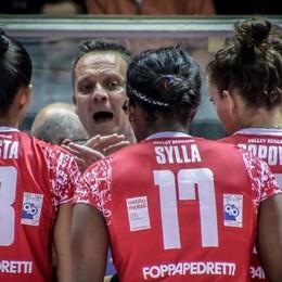 La Foppapedretti va ancora ko Novara (campione d'Italia) vince 3-0
