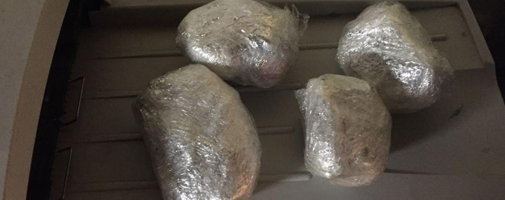 Trovato con cocaina da spacciare In manette un 40enne albanese