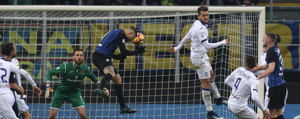Atalanta sconfitta dall'Inter 2 a 0   Doppietta di Icardi «gela» i nerazzurri