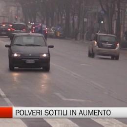 Bergamo - Pm10 in aumento, ma arriva la pioggia