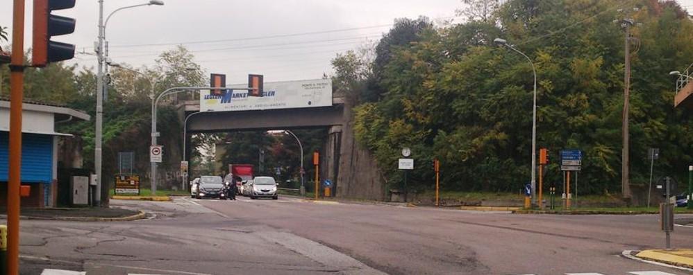 Il «rosso stop» non perdona Ponte S.Pietro, in sei mesi 1.800 multe