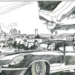 Il mito di Diabolik arriva a Bergamo Inaugurazione della mostra in via Tasso