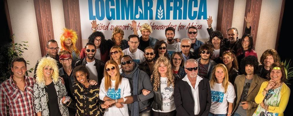 Logimar, il calendario 2018 è solidale «We are the world» rivive per il Cesvi