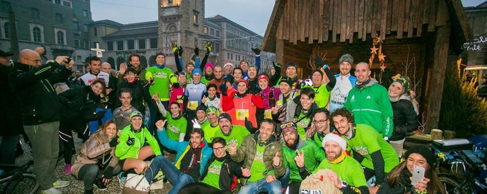 Torna «We run for Christmas» Una corsa benefica lunga 240 km